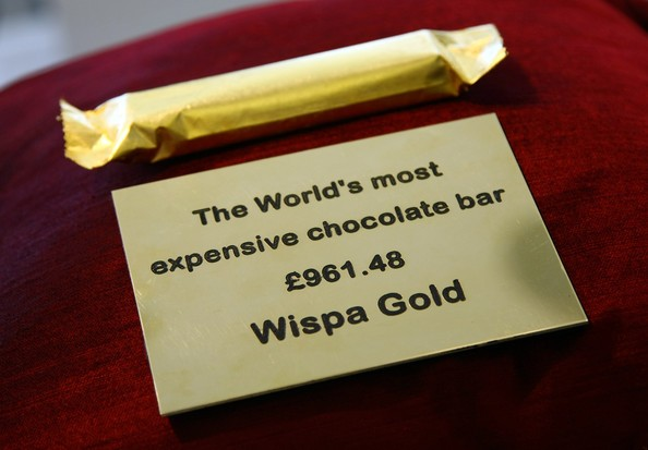 Cadbury Whispa Gold Expensive Chocolate Bar