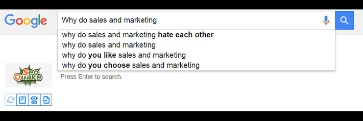 Why do Sales and Marketing Hate each other?