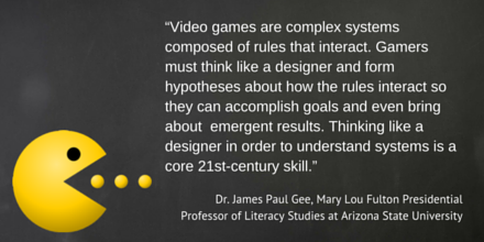 Dr James Paul Gee Quote Gamification Skill