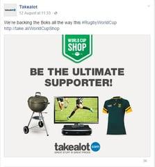Takealot facebook post 1