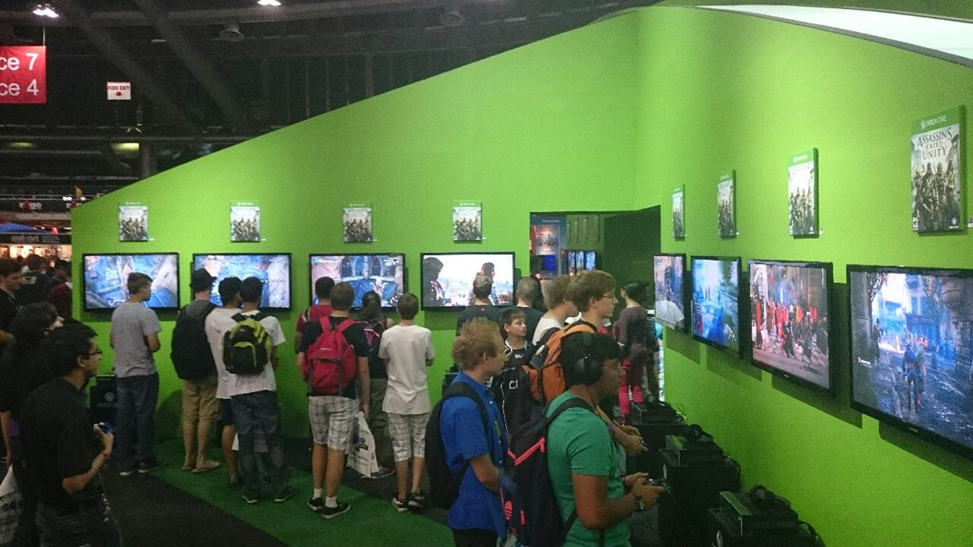 Xbox Stand at rAge 2014
