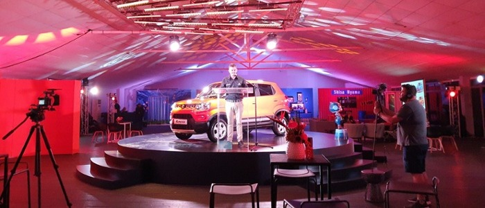 Brendon Carpenter at the Suzuki S-Presso launch in Cape Town, South Africa