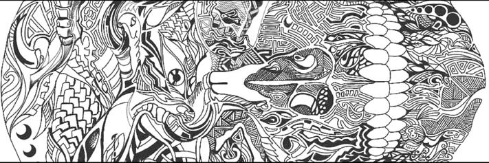 Design Indaba Blog Header Darren Skull Doodle