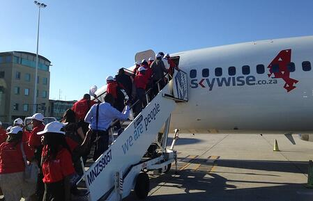Boarding-the-plane-home Skywise
