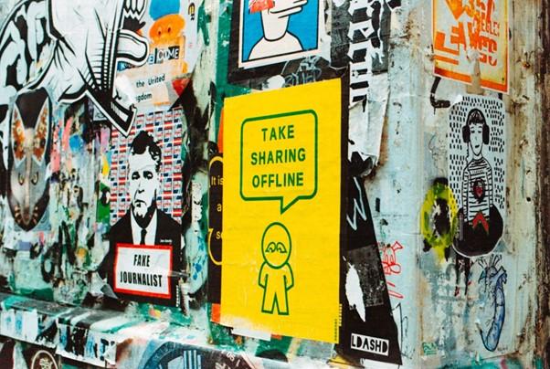 Take sharing offline
