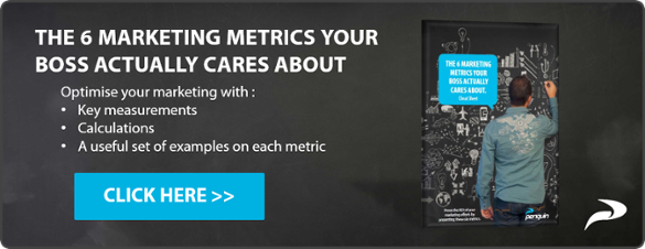 Landing Page 6 Marketing Metrics eBook Penquin