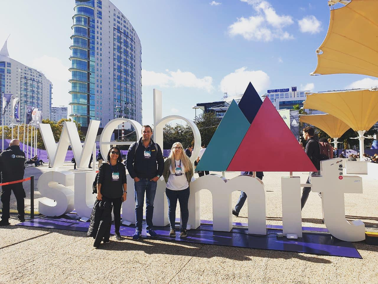 Penquin's team at WebSummit